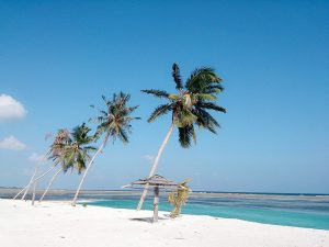 Spiaggia a Huraa