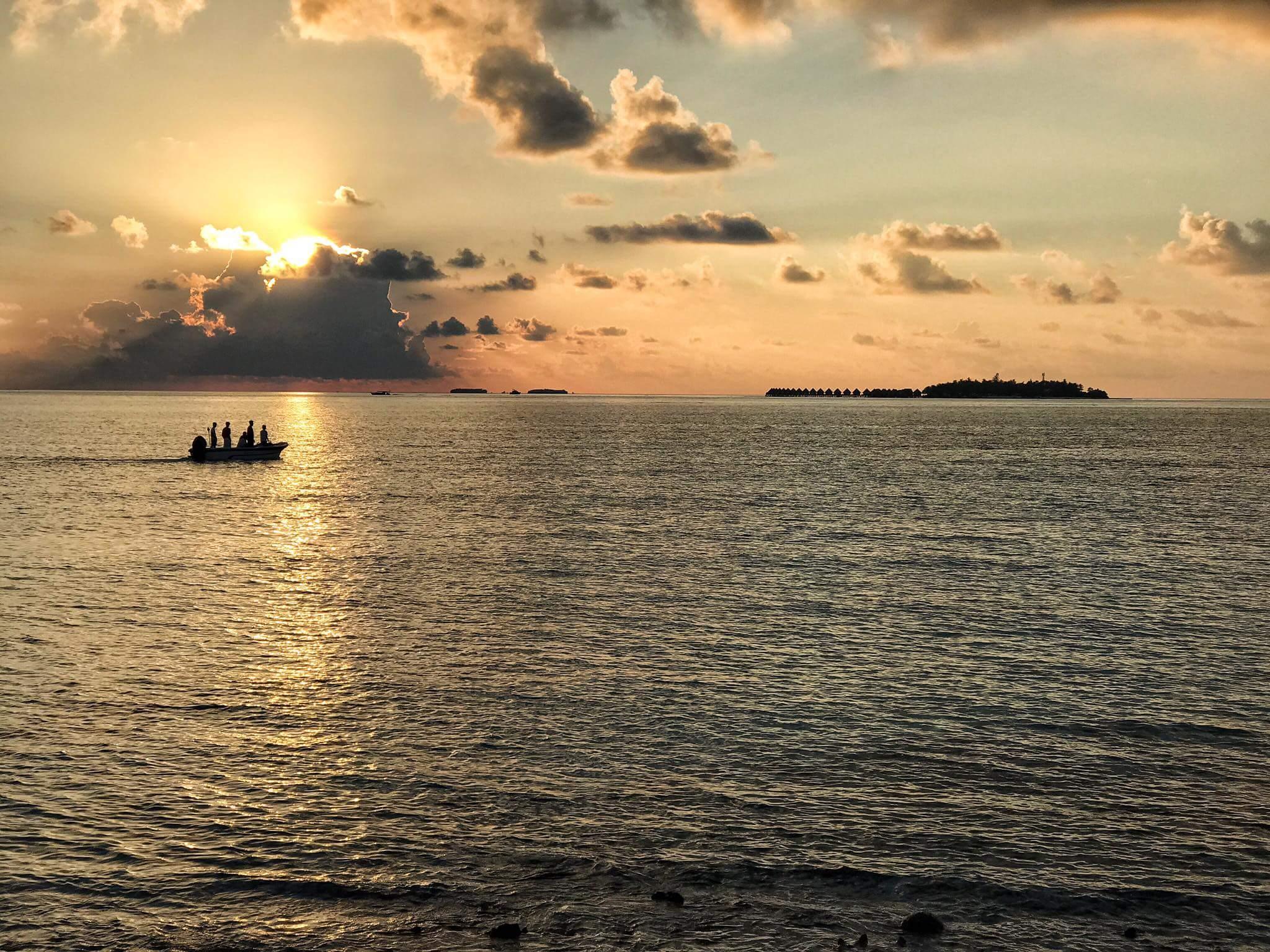 Sunset fishing Huraa